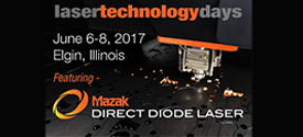 Radan 2017, by Vero Software, to be  Exhibited at Mazak Laser Technology Days, June 6-8, Elgin, Illinois